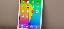 Lớp kính màn hình iPad Air không dính liền khiến vần đề thay thế gặp khó khăn