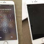 apple cong bo gia thay man hinh iphone 6
