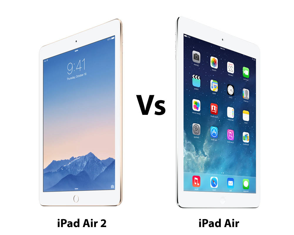 ipad air 2 vs ipad air comparison review gearopen. Black Bedroom Furniture Sets. Home Design Ideas