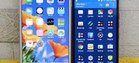 """""""Đọ"""" màn hình HTC M9 và iPhone 6 Plus: Ai thực lực """"nhỉnh"""" hơn ?"""