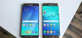 """So sánh màn hình Samsung Note 5 và S6 Edge Plus: Khi """"gà nhà"""" so găng"""