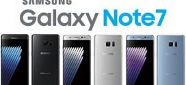 Samsung Galaxy Note 7 an toàn sẽ có biểu tượng pin màu xanh lá cây