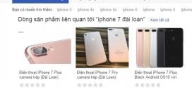 Dân mạng xôn xao về iPhone 7 nhái giá chỉ hơn 2 triệu đồng tung hành thị trường