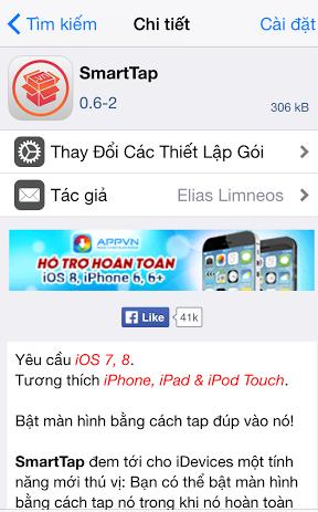 Mở khóa iPhone bằng cách ấn hai  lần vào màn hình cảm ứng