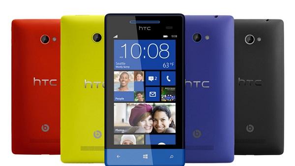 HTC 8X , 8S