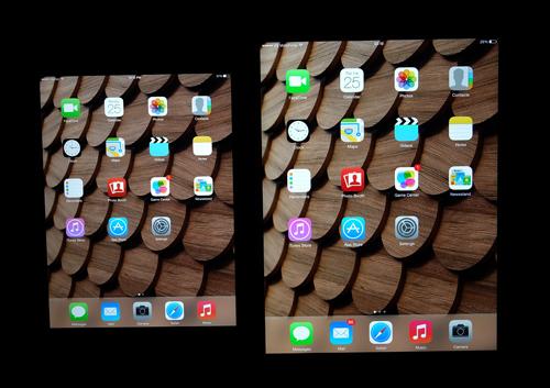 Màn hình iPad Mini và iPad Air