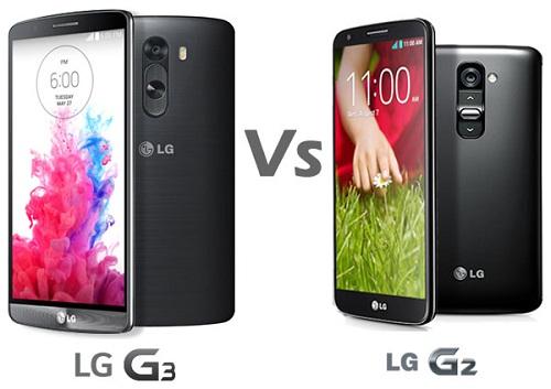 LG G3 và LG G2