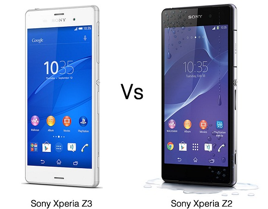 Sony Xperia Z3 và Sony Xperia Z2