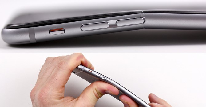 man hinh iphone 6, 6 plus bi cong