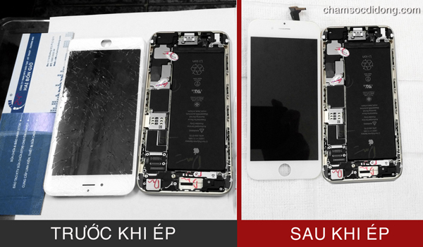 thay man hinh mat kinh iphone 6 iphone 6 plus s