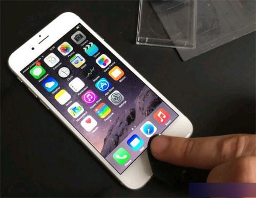 loi van tay tren iphone 6