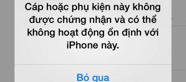 Nguyen Nhan Va Cach Khac Phuc Khi Iphone 6s Bao Phu Kien Khong Duoc Ho Tro 03