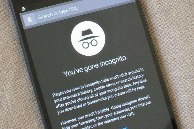 Cách bật và tắt chế độ ẩn danh trên Android khi duyệt Web riêng tư hình 1