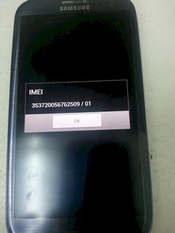 kiểm tra smartphone Samsung chính hãng