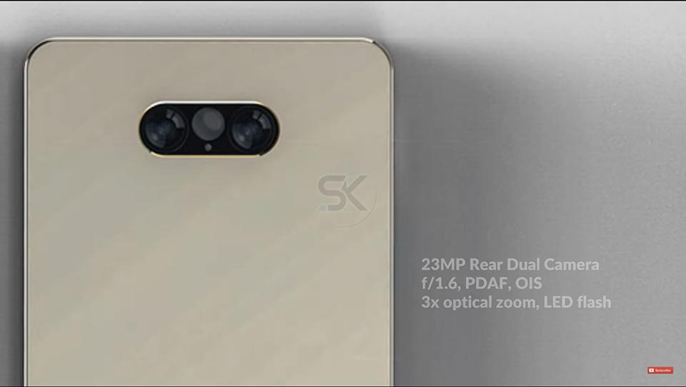 Lộ Diện Samsung Galaxy Zero,đối Thủ đáng Gườm Của IPhone X 4