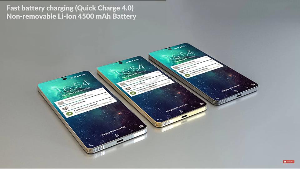 Lộ Diện Samsung Galaxy Zero,đối Thủ đáng Gườm Của IPhone X 5