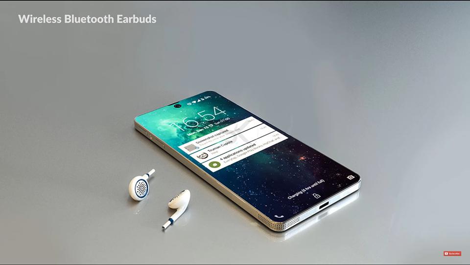 Lộ Diện Samsung Galaxy Zero,đối Thủ đáng Gườm Của IPhone X 6