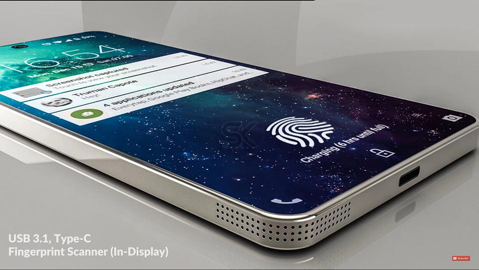 Lộ Diện Samsung Galaxy Zero,đối Thủ đáng Gườm Của IPhone X 7