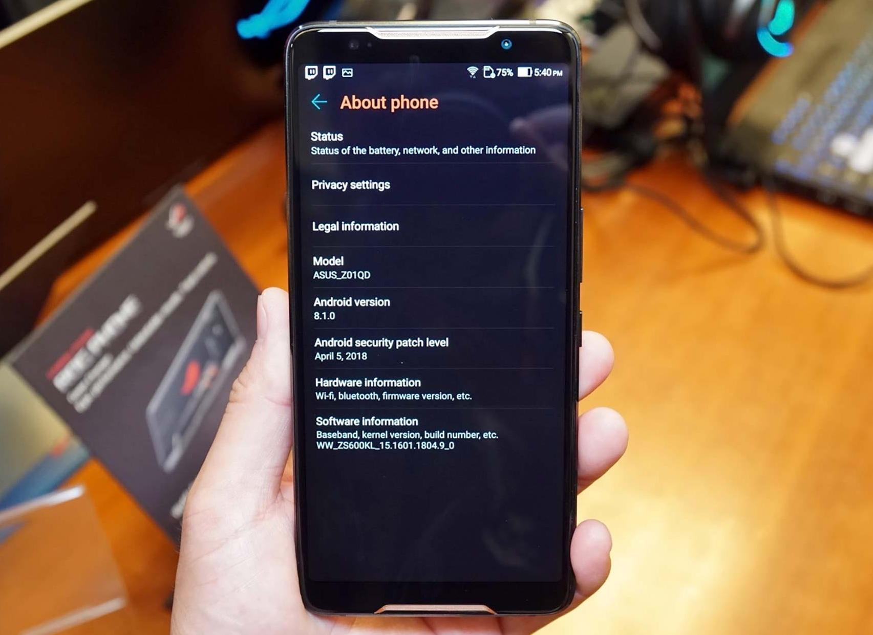 Rog Phone Gamingphone Toi Tan Vua Doc Vua La Cua Asus 10