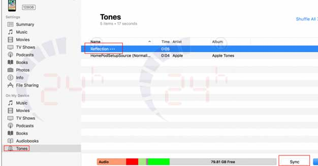 cài nhạc chuông cho iPhone X Plus hình 20