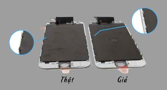 Bí kípcách nhận biết màn hình iPhone 6 / 6 Plus zin và lô chuẩn men