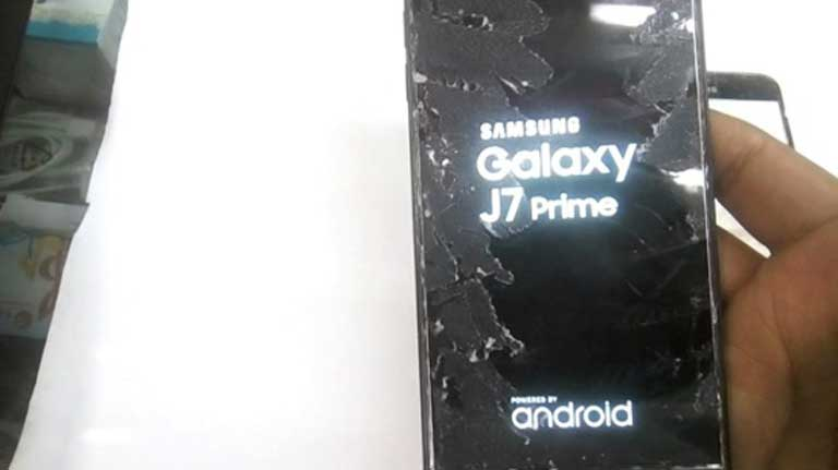 Huong Dan Fix Loi Samsung J7 Prime Bi Soc Man Hinh Cam Ung Cam Ung Cuc Don Gian 02