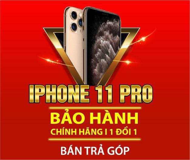 Bán trả góp iPhone 11 Pro tại 24hStore