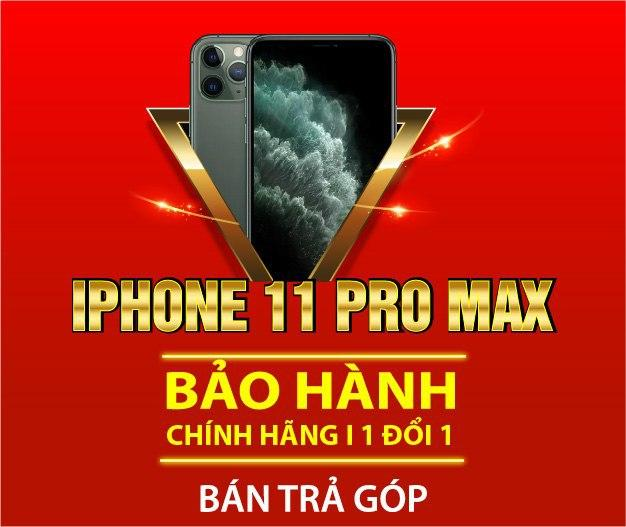 Bán trả góp iPhone 11 Pro Max tại 24hStore