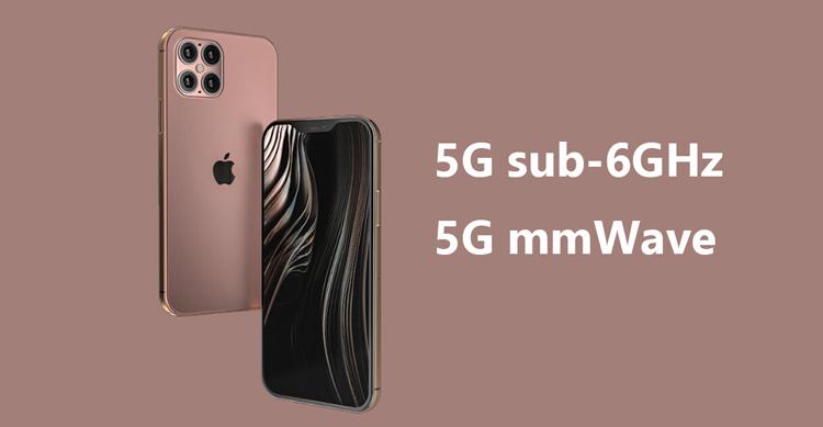 iPhone 12 tiêu chuẩn chỉ hỗ trợ 5G sub-6GHz
